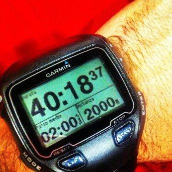 Speed test 2km di inizio anno.