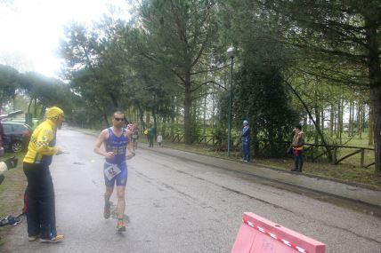 La sofferenza degli ultimi chilometri nella mezza maratona.