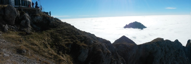 La vista odierna dalla cima della Grigna Settentrionale